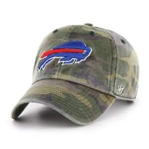 Buffalo Bills '47 Camo Clean Up Adjustable On Field Cotton Hat Cap
