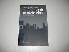 Bankbetriebslehre von Hartmann-Wendels / Pfingsten / Weber , 4. Aufl. 2007