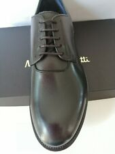 """Massimo Dutti """" Shoes Elegant Man Derby Shoes Black Leather New Price Real"""