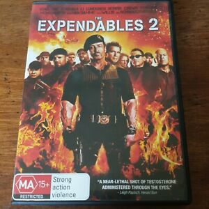 The Expendables 2 DVD R4 Like New! FREE POST