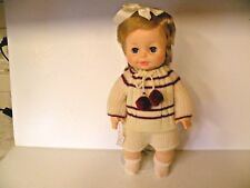 """HORSMAN BEAUTIFUL GIRL DOLL THIRSTEE 1971 WITH STAND 13"""" TALL"""