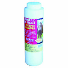Equimins Wound Powder 125gm Puffer Bottle Horse Care & First Aid Blood Coagulant