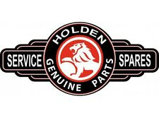 NEW Holden Black/Red Service Station tin metal sign