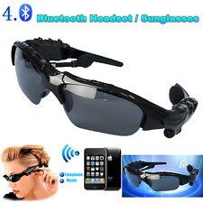 Smart Bluetooth 4.1 Sunglasses Headset Headphone Earphone For Cell Phones Tablet