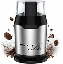 Muzili Coffee Grinder, Electric Coffee Grinder for Coffee Beans Nuts and Grains