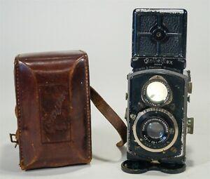 RARE Pre-War 1931-32 Original Baby Rolleiflex 4x4 K1 Model 4RF 410 TLR Camera