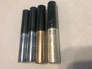4 x NYC Sparkle Eye Dust Blue Opal Amber #879 #883 #887 Factory Sealed