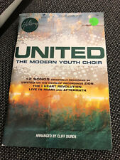 Hillsong United Youth Collection Choral Book 12 songs, arranges by C.Durren