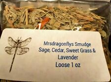 Sage Cedar, SweetGrass, Lavender, Rosemary Loose 1 oz