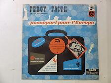 PERCY FAITH Passeport pour l Europe P 07 192 L