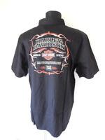 Harley Davidson Pinstripe Flames Hemd Shirt kurzarm 99049-16VM