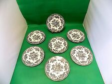ENOCH WEDGWOOD TUNSTALL Cottage Rose PIASTRE LATERALI X 7