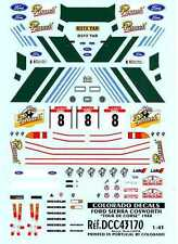 Colorado Decals 1/43 FORD SIERRA COSWORTH Tour de Corse 1988