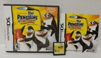 Penguins of Madagascar -  Nintendo DS DS Lite 3DS 2DS Game + Tested Complete