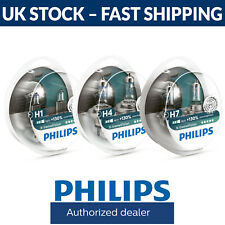 Philips XTREME VISIÓN +130% Faros Bombillas H1 H4 H7 Accesorios aquí (SINGLE/par)
