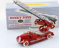 ATLAS DINKY TOYS Echelle de Pompiers Delahaye 32D Fire car model