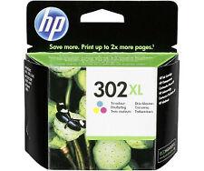 HP 302 XL Tintenpatrone - Gelb/Cyan/Magenta - F6U67AE