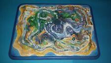 Tablero de LA ISLA DE FUEGO de MB // Gameboard from FIREBALL ISLAND