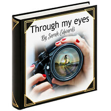 Personalised large photo album, guestbook, photobook, Photographer portfolio