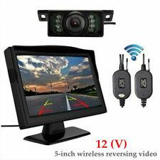 "5"" Car 12V 2.4G Backup Camera Monitor Rear View Night Vision Parking System Part"