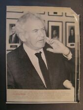 AP Wire Press Photo 1979 Author Norman Mailer New Book Utah Killer Gary Gilmore