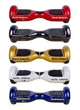 2 X Adesivi Personalizzati per elettronica Hoverboard o swegway qualsiasi nome colore