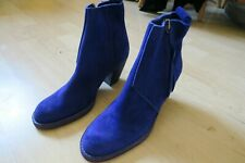 ACNE STUDIOS PISTOL PURPLE SUEDE ANKLE BOOTS - SIZE 6 - WORN ONCE RRP £489