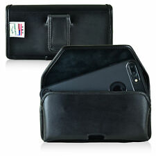 iPhone 8 Plus iPhone 7 Plus Holster Black Belt Clip Case Leather Turtleback