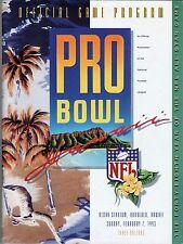 NFL Pro Bowl Game Program NFC AFC 1993