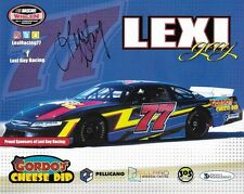 "SIGNED 2017 LEXI GAY ""GORDOS CHEESE DIP"" #77 NON NASCAR LATE MODEL POSTCARD"