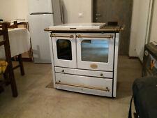 Nordica Sovrana 7kW Stufa a Legna con Forno per Cucinare -...