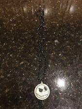 Disney Nightmare Before Christmas Jack Skellington light up Pendant Necklace