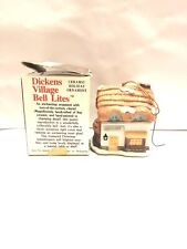 Dickens Village Bell Ornament J.S.N.Y Ceramic Grocery Vintage
