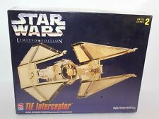 Star Wars The Interceptor Limited Edition Scale Model Kit Ertl Brand New 1995
