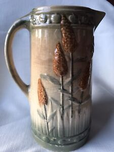 """EARLY ROSEVILLE POTTERY PITCHER """"GOLDENROD""""  BEFORE 1916"""