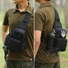 Men's Military Tactical Outdoor Shoulder Sling Chest Bag Travel Hiking Backpack