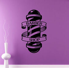 Barber Shop Emblem Wall Vinyl Decal Hair Salon Vinyl Sticker Window Stickers 27