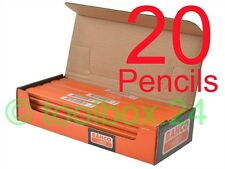 20 x Bahco HB Grade Joiners Pencils, Builders, Carpenters, Woodwork, Woodworking