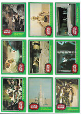 Star Wars : Series 4 (Green) Complete 66 Bubblegum Card Set Topps - 1978 NM/MINT