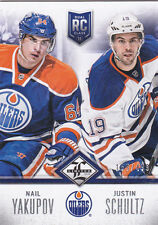 12-13 Limited Nail Yakupov Justin Schultz /499 Rookie 2012 Oilers Redemption