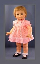 PINK Frilly Doll Dress, Bloomers fits Ideal Kissy Dolls, VINTAGE Stor Stock 1960