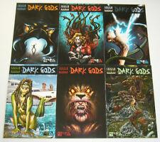 Dark Gods #1-6 VF/NM complete series - justin jordan - avatar press horror set