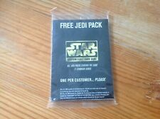 Star Wars CCG Jedi Pack Promo Sealed Card Set