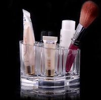 Cosmetic Organizer Clear Acrylic MakeUp Lipstick Holder Case Jewelry Storage