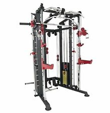 We R Sports Monster Power Cage Multi Power Rack Smith Machine Combo Lat /Low Row