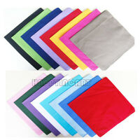 10pcs 100% Cotton Sport Outdoor Bandana Turban Head Wrap Handkerchief Scarf Mask