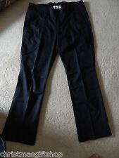 ESPRIT Ladies black casual cotton pants - size 38