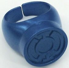 Green Lantern Blackest Night Plastic Ring  BLUE LANTERN RING Hope 4b3