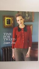 "Debbie Bliss Pattern Book ""Time for Tweed"" 6 Knits for Women"