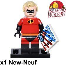 Lego - Figurine Minifig Minifigurine série Disney Incredible indestructible NEUF